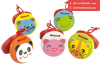 Cartoon Castanets Infant Wooden Musical Toy Instrument Educational Kids Wooden Toy