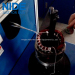 Single working station automatic stator end coil lacing machine