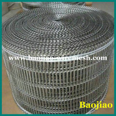 Stainless Steel Flat-flex Wire Mesh conveyor belt