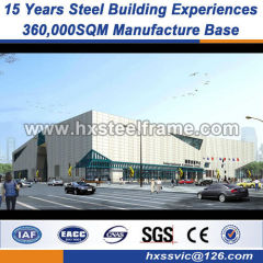 connection of steel structure building metal buildings two story