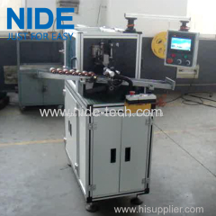 Rotor automatic slot wedge inserting machine