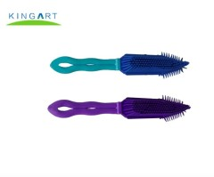 High-quailty colorful Sticky Clothes Cleaning brush with handle