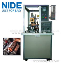 Armature commutator spot welding FULL AUTO fusing machine price in india