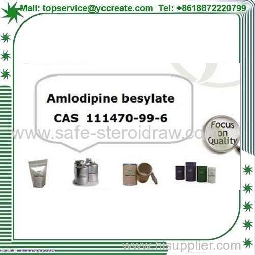 Amlodipine Besilate CAS: 111470-99-6 for Antiangina and Antihypertensive