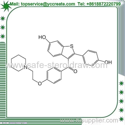 Anti-Cancer API 99% Raloxifene HCl CAS 84449-90-1 For Cancer Treatment