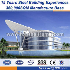 Customized steel structure fabrication building steel beams High Strength