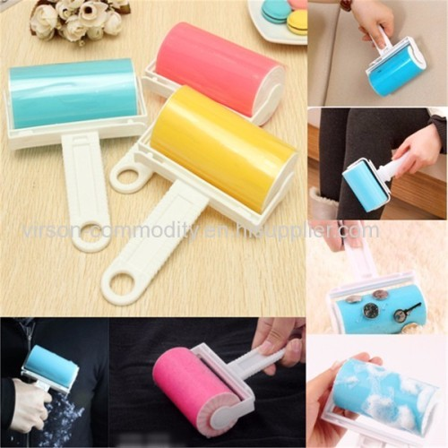 Large Size Resuable Lint Roller Cat Dog Hair Remover Tool Carpet Floor Lint Roller