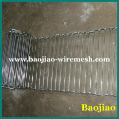 Stainless Steel Compact Grid Belts for Food Transfer