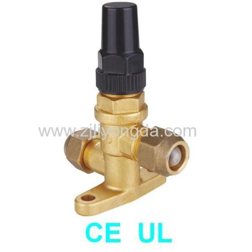 Brass Angle Valve Connecting Screw Compressor