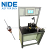 certificate armature dynamic balancing testing machine for vacuum cleaner motor rotor