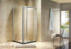Clear Glass Folding Door Shower Room