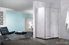 Bathroom 8mm Hinge Glass Door Shower Enclosure