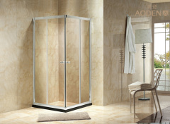 Home Use Bathroom Tempered Glass Sliding Door Corner Shower Room