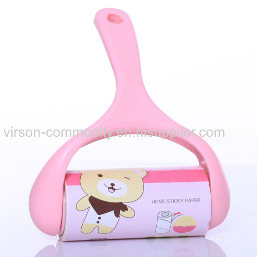 Adhesive Sheet Lint Remover with Handle for Pet Hair Floor Carpets Clothes Furniture