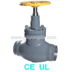 Olive type straight valve