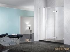 Stainless Steel Frameless Simple Shower Door Shower Screen