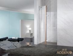 New Design Bathroom Tempered Glass Screen Mini Shower Enclosure
