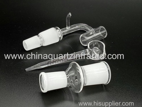 Thick White Core Reactor Bottom quartz banger