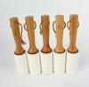 Wooden Handle Lint Roller
