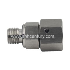 Stainless Steel 316 ED Sealing captive seal Hydraulic adapter 24 degree Cone Hose Fitting