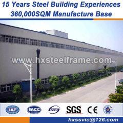 estructura de acero de la erección estructuras de acero soldadas con autógena material europeo