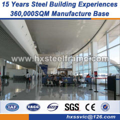 H section column welded steel structures Good practical