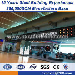 H steel column welded steel structures good vibration performance