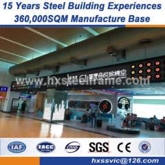 H steel column welded steel structures American style