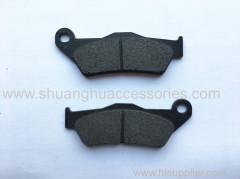Motorcycle brake pads with non asbestos brake lining
