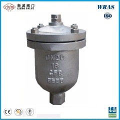 Single Ball Sphere Stainless Steel Thread End Air Release Valve with DIN Pn16