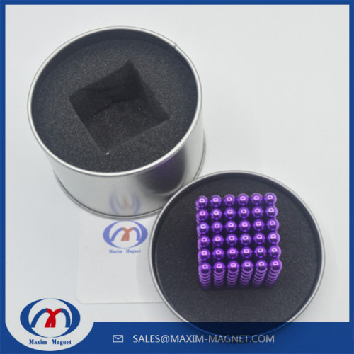Colorful Neodymium ball magnets neocube D5mm