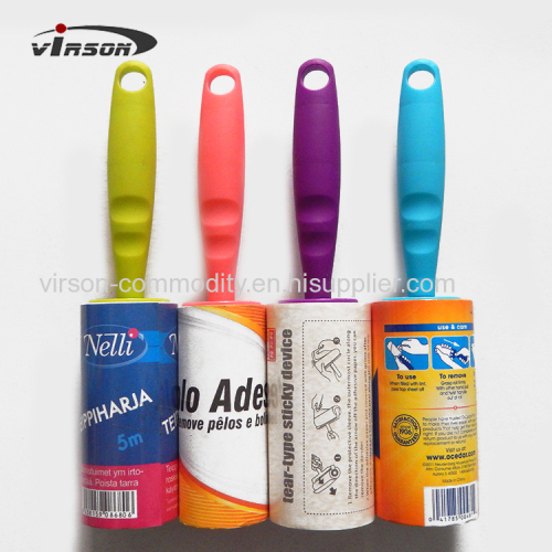 Silicone Colorful Handle Lint Roller