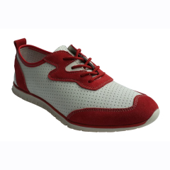 Active easy shoes women comfortable shoes lady leather shoes action leather split leather