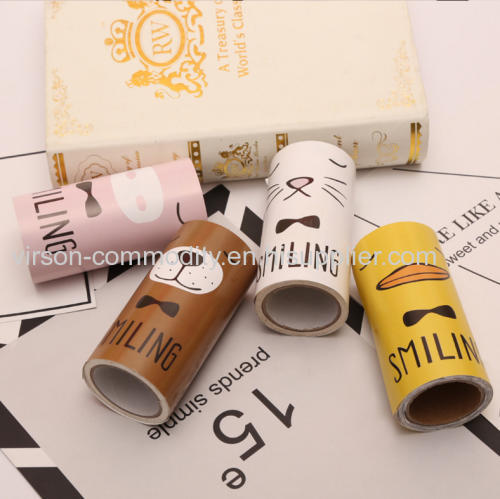 Cartoon Paper Packing 30 sheets Sticky Lint Roller