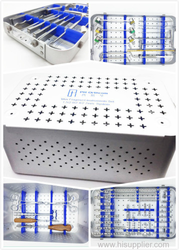 new style 4 layers sterile box for orthopedic instrument with or without veterinary instrument
