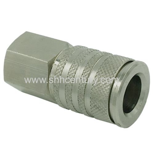BRASS PREMIUM QUICK COUPLING WITH EUROPEAN PROFILE SERIES 27