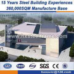 heavy Steel frame 30x60 steel building good vibration performance