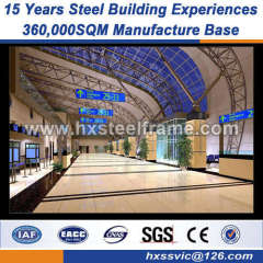 heavy steel structural fabrication 30x60 metal building well selling