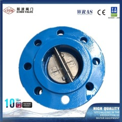 Dn40 Water Flap Non Return Natural Gas Check Valve/Soft Sealingdouble Bronze Disc Check Valve