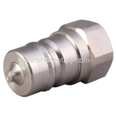 Stainless Steel NPT1/2 Hydraulic Quick Connect Coupling Quick Disconnects