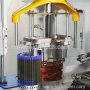 Automatic motor winding machine winding speed