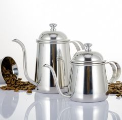 Slender hand flush tea pot