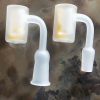 new Quartz banger with SiO2 opaque bottom Gavel nial 10mm & 14mm & 18mm Male & Female quartz nails for glass water pipe