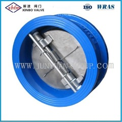 Cast Iron Double Disc Wafer Type Check Valve