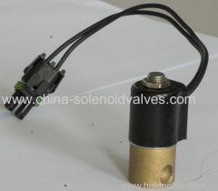 waste gas solenoid valve