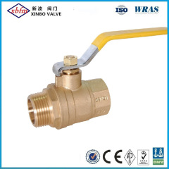 Forged Brass Body Full Port NPT Brass Ball Valve
