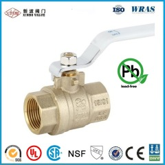 CSA UL Approved Free Lead Low Pressure Brass Ball Valve