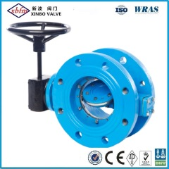 Cast Iron Double Flanged Butterfly Valve