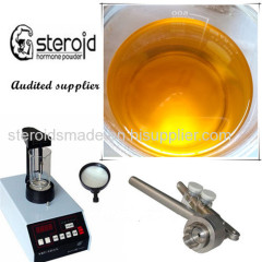 Equipoise Boldenon undecanoate yellow viscous liquid