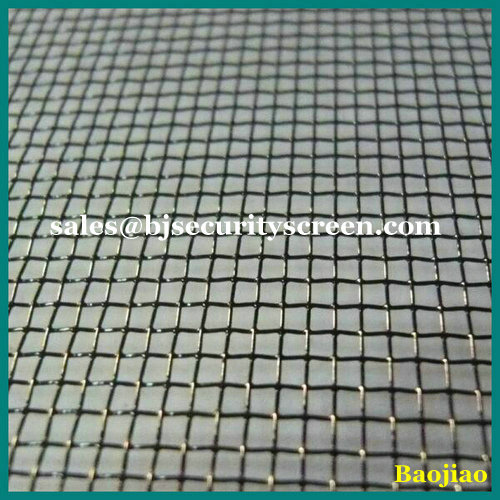 500' Black Epoxy Coated Mesh